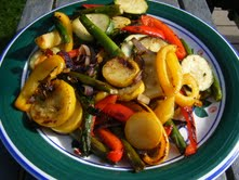 Oven Roasted or Grilled Vegetables
