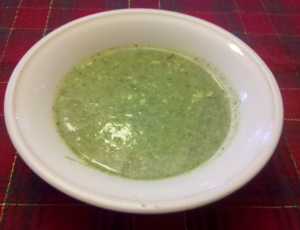 Spinach & Radish Soup