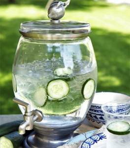 Freshen Up Your Water with Cucumber