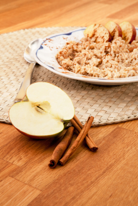Overnight Apple Cinnamon Oats