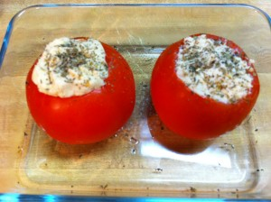 Chicken Stuffed Baked Tomato Phase 2